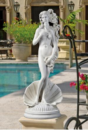 Birth of Venus Garden Statue From Design Toscano
