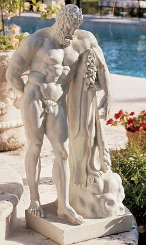Farnese Hercules (Herakles) Classical Statue by Design Toscano