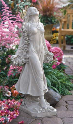 Flora: Divine Patroness of Gardens Statue by Design Toscano