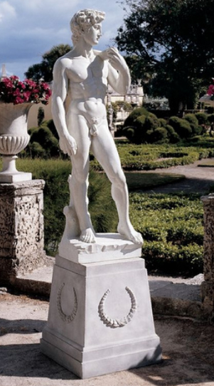 David (1504) Grande Garden Statue From Design Toscano