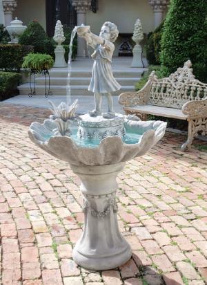 L'Acqua di Vita Sculptural Fountain From Design Toscano KY30082