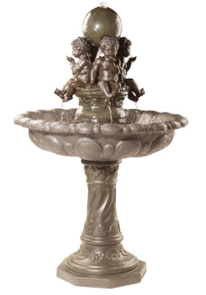 The Four Splashing Putti Sculptural Fountain From Design Toscano KY400421